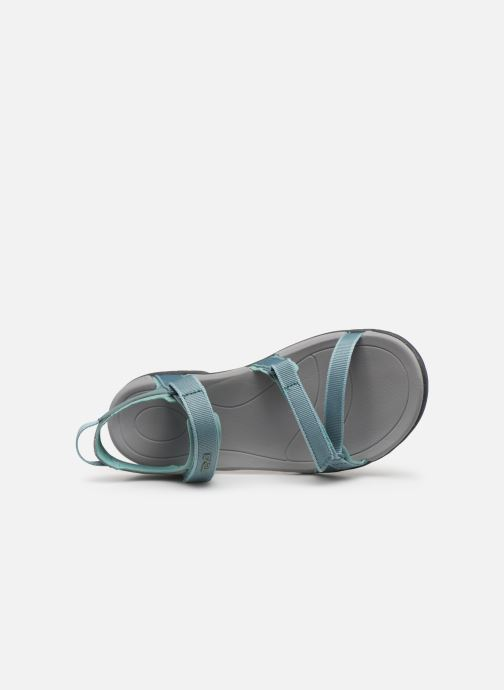 Sport shoes Teva Verra W Blue view from the left