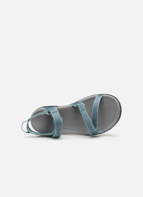 Chaussures de sport Teva Verra W Bleu vue gauche