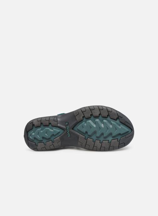 Chaussures de sport Teva Verra W Bleu vue haut