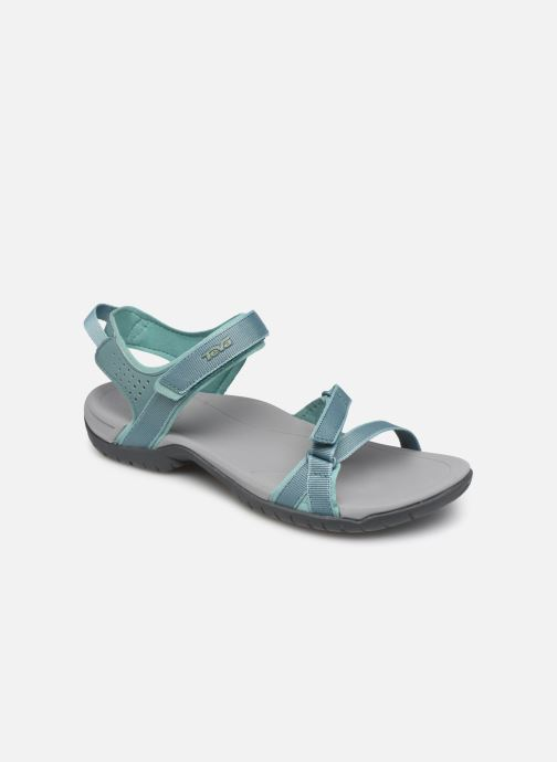 Chaussures de sport Teva Verra W Bleu vue détail/paire