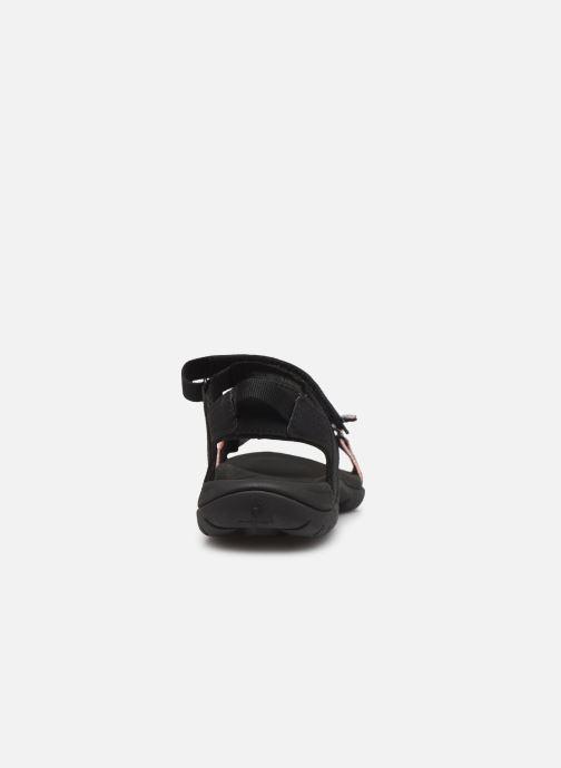 Zapatillas de deporte Teva Verra W Negro vista lateral derecha