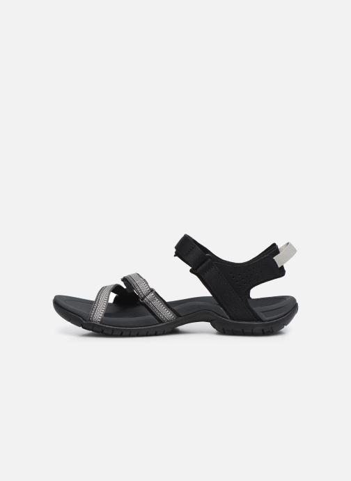 Zapatillas de deporte Teva Verra W Negro vista de frente