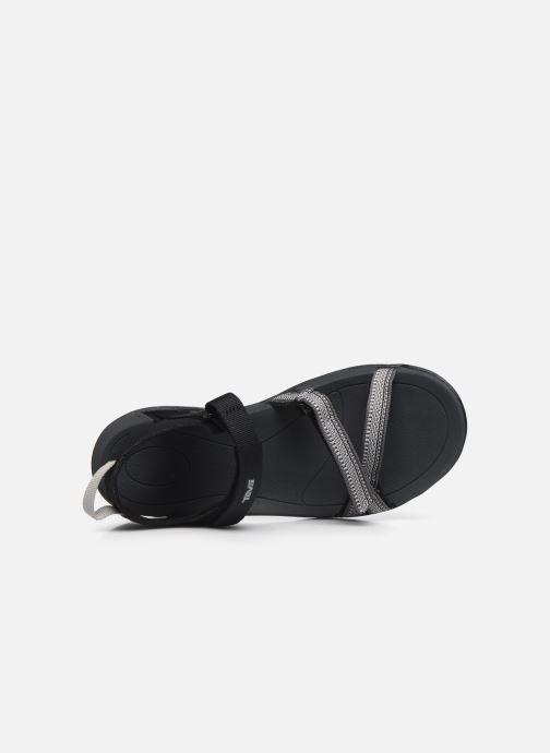 Zapatillas de deporte Teva Verra W Negro vista lateral izquierda