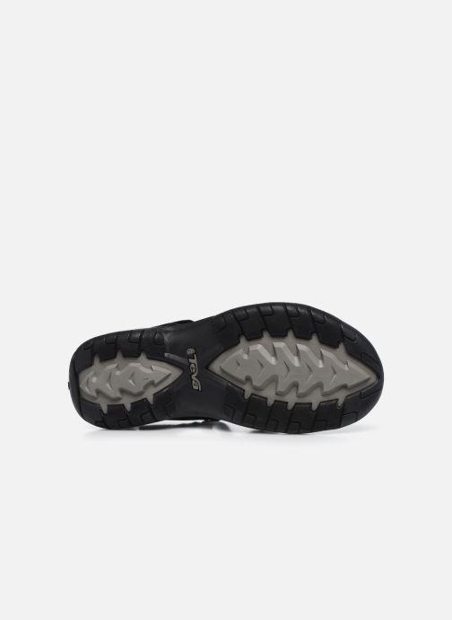 Chaussures de sport Teva Verra W Noir vue haut
