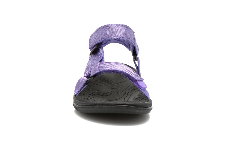Sandales et nu-pieds Teva Hurricane 3 Kids Violet vue portées chaussures
