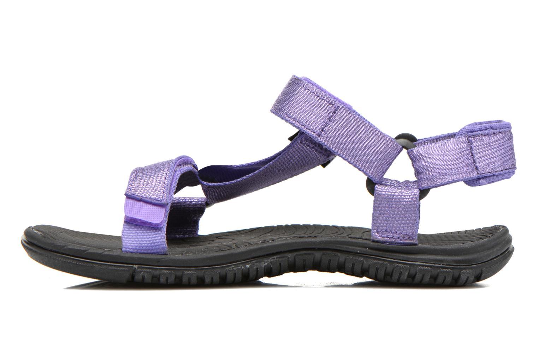 Sandales et nu-pieds Teva Hurricane 3 Kids Violet vue face