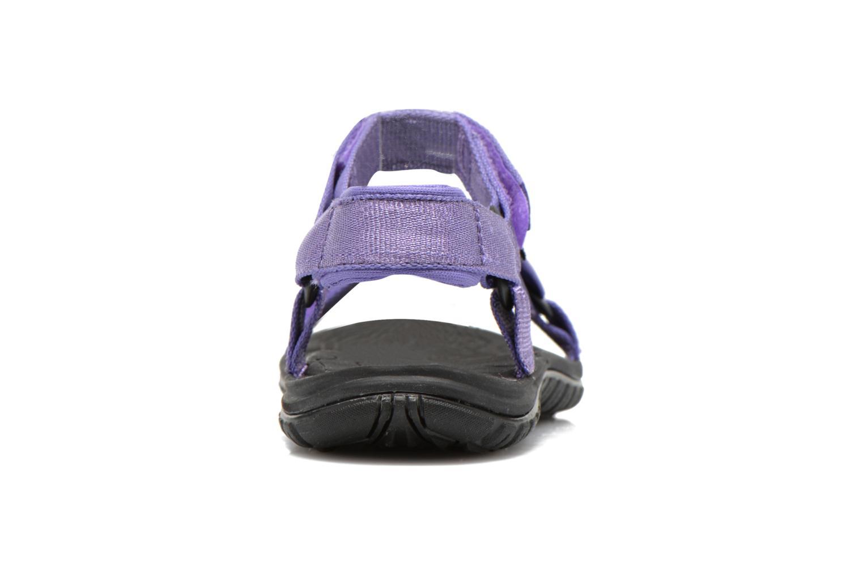 Sandales et nu-pieds Teva Hurricane 3 Kids Violet vue droite