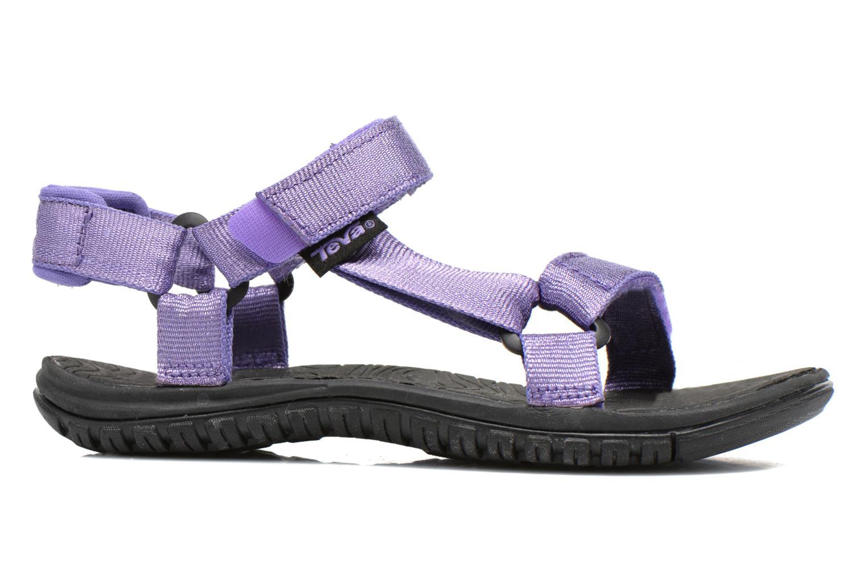 Sandales et nu-pieds Teva Hurricane 3 Kids Violet vue derrière