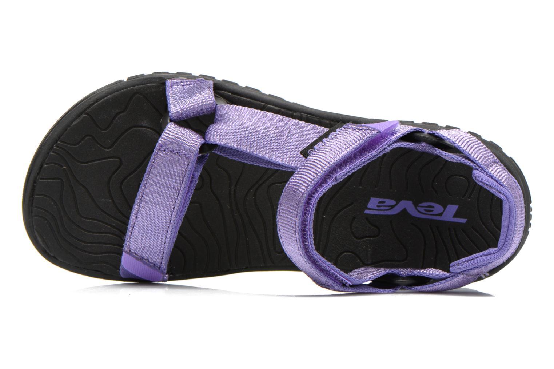 Sandales et nu-pieds Teva Hurricane 3 Kids Violet vue gauche