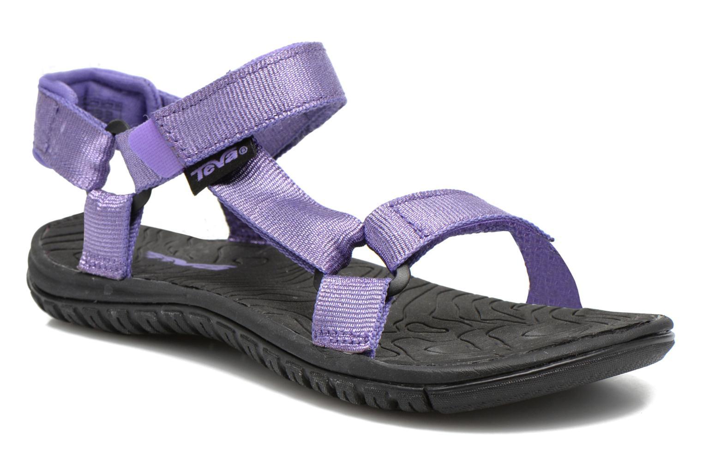 Sandales et nu-pieds Teva Hurricane 3 Kids Violet vue détail/paire