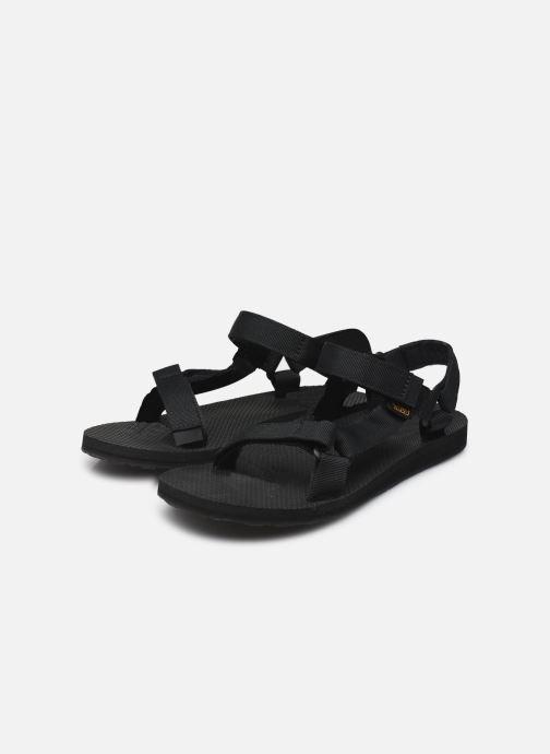 Sandali e scarpe aperte Teva Original universal W Nero immagine dal basso