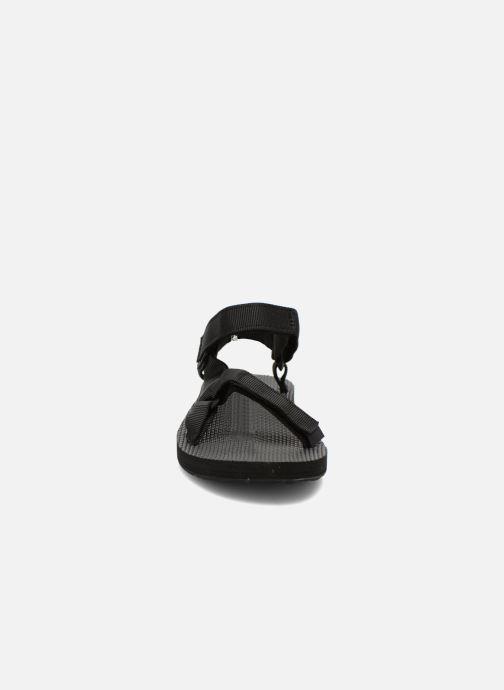 Sandali e scarpe aperte Teva Original universal W Nero modello indossato