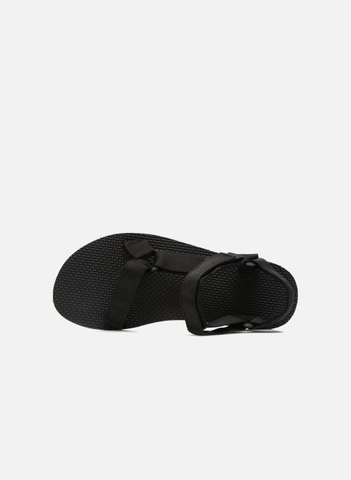 Sandali e scarpe aperte Teva Original universal W Nero immagine sinistra