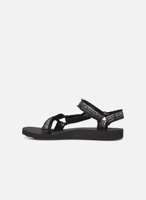 Sandals Teva Original universal W Black front view