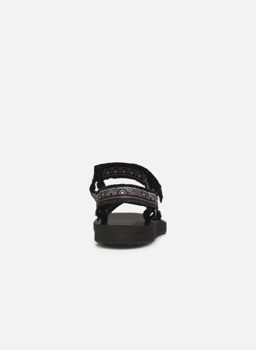 Sandals Teva Original universal W Black view from the right