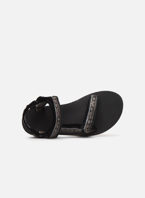 Sandals Teva Original universal W Black view from the left