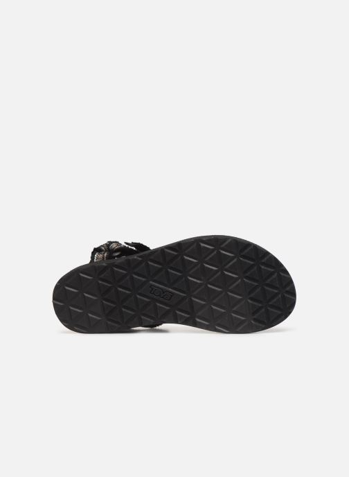 Sandals Teva Original universal W Black view from above