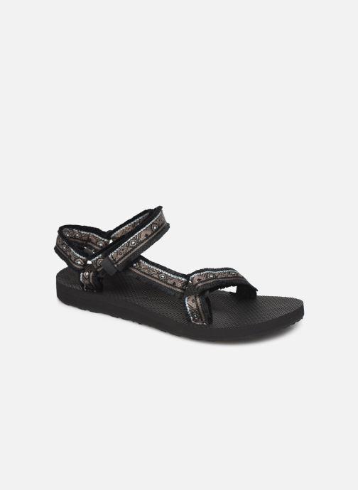 Sandals Teva Original universal W Black detailed view/ Pair view