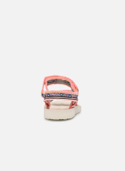 Sandaler Teva Original universal W Pink Se fra højre
