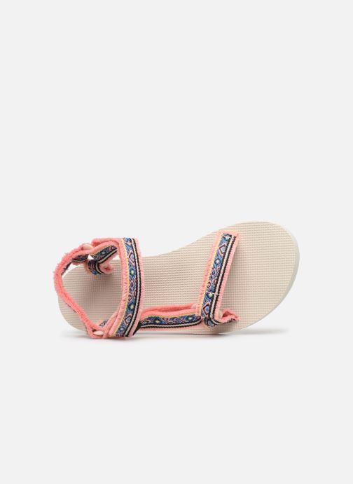 Sandaler Teva Original universal W Pink se fra venstre