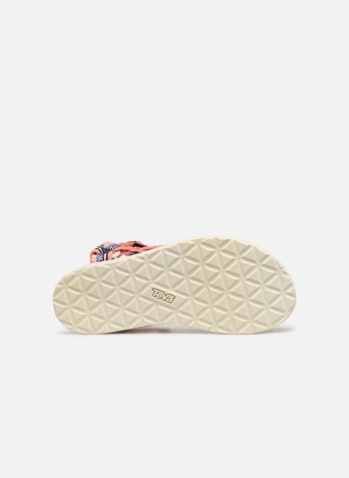 Sandals Teva Original universal W Pink view from above