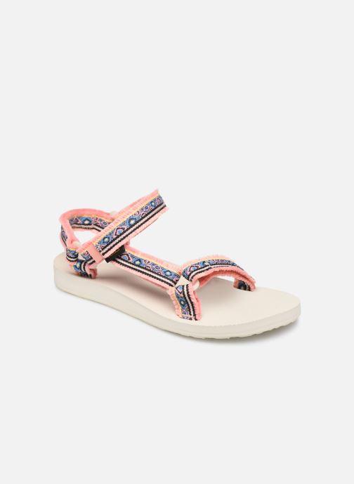 Sandals Teva Original universal W Pink detailed view/ Pair view