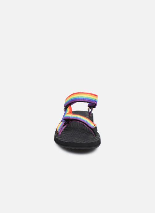 Sandales et nu-pieds Teva Original universal W Multicolore vue portées chaussures