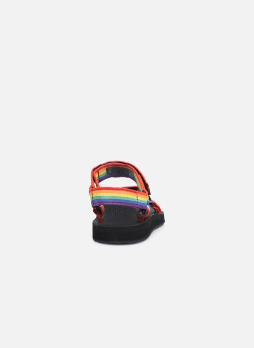 Sandales et nu-pieds Teva Original universal W Multicolore vue droite
