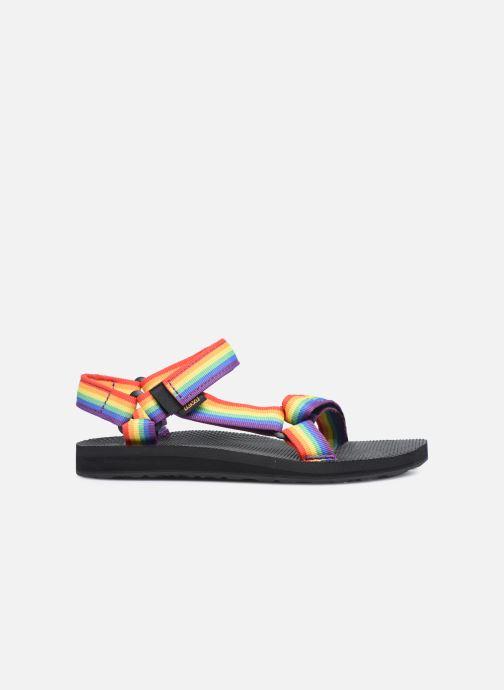 Sandales et nu-pieds Teva Original universal W Multicolore vue derrière