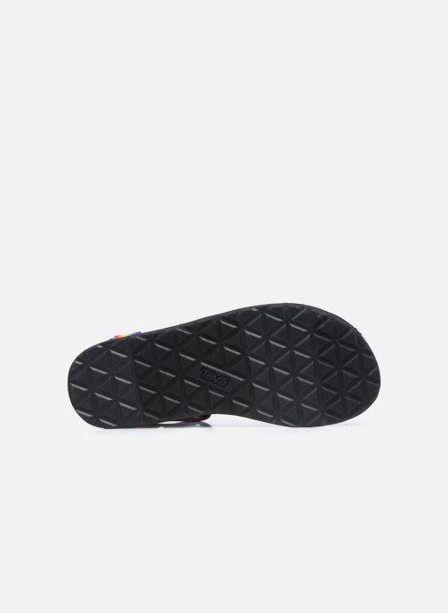 Sandales et nu-pieds Teva Original universal W Multicolore vue haut