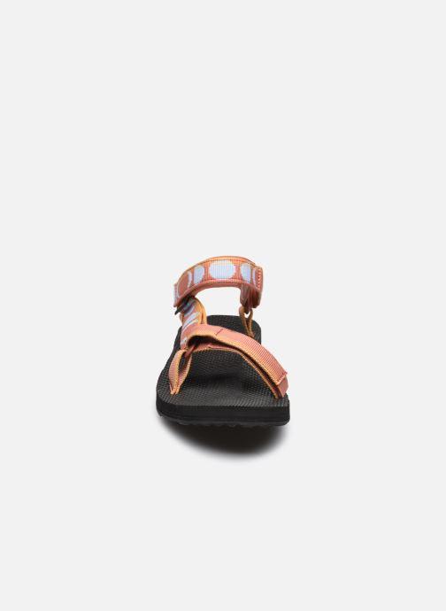 Sandali e scarpe aperte Teva Original universal W Multicolore modello indossato