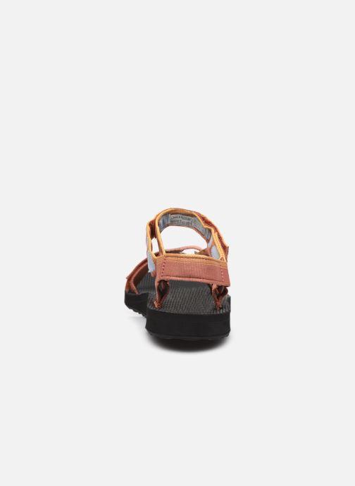 Sandali e scarpe aperte Teva Original universal W Multicolore immagine destra