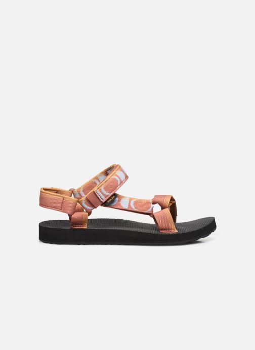 Sandali e scarpe aperte Teva Original universal W Multicolore immagine posteriore