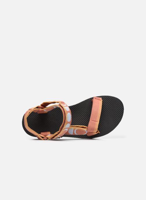 Sandali e scarpe aperte Teva Original universal W Multicolore immagine sinistra