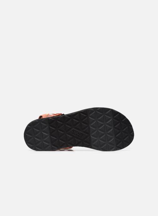 Sandali e scarpe aperte Teva Original universal W Multicolore immagine dall'alto