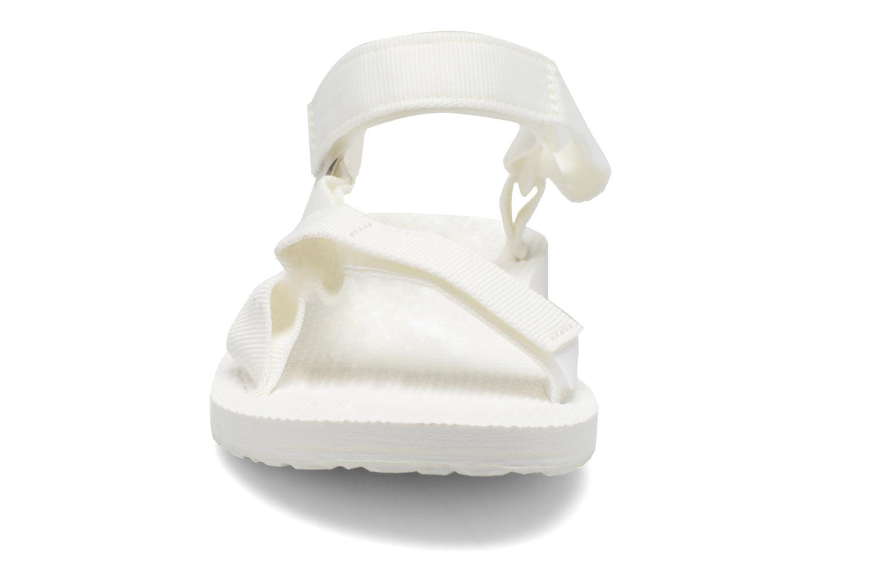 Sandalen Teva Original universal W weiß schuhe getragen