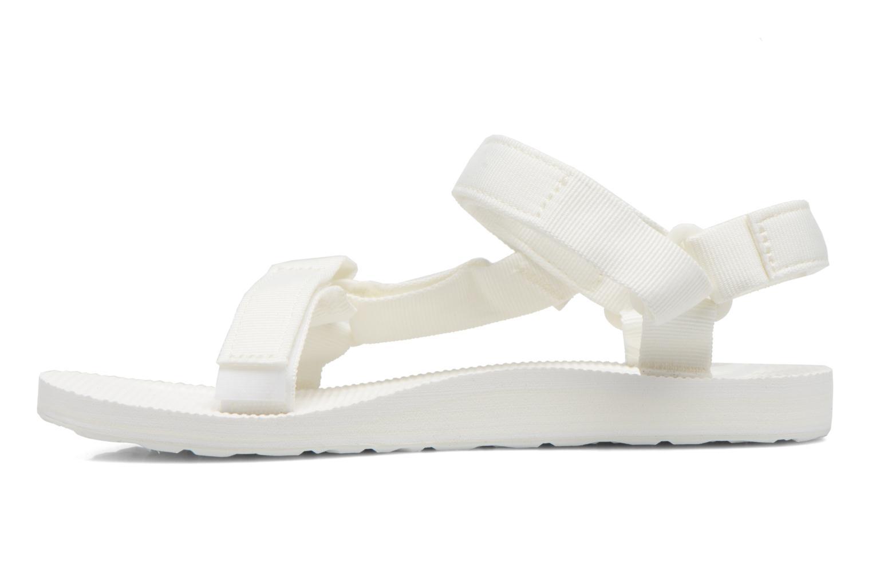 Sandalen Teva Original universal W weiß ansicht von vorne