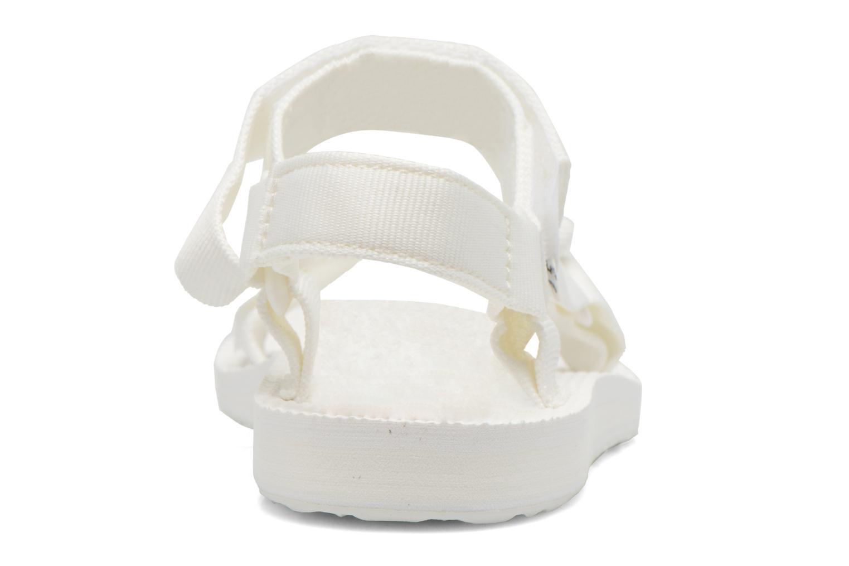 Sandalen Teva Original universal W weiß ansicht von rechts