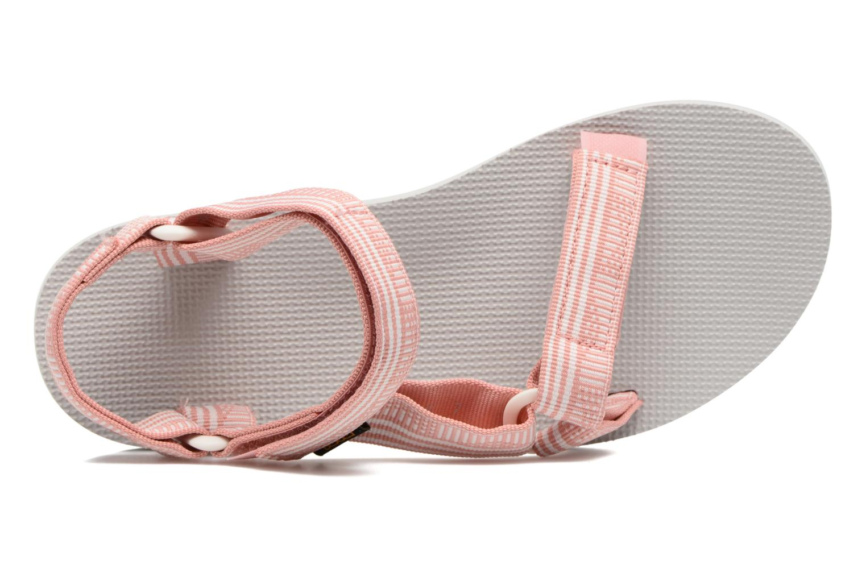 Sandales et nu-pieds Teva Original universal W Rose vue gauche