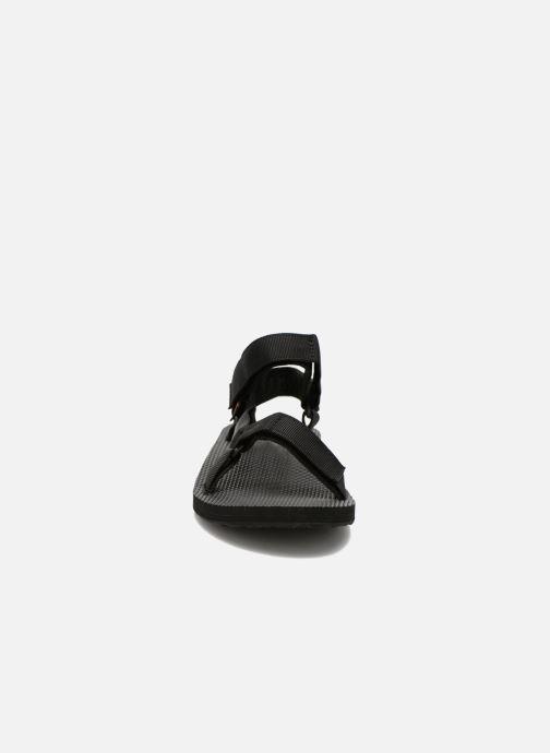 Sandales et nu-pieds Teva Original universal Noir vue portées chaussures