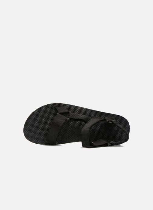 Sandales et nu-pieds Teva Original universal Noir vue gauche