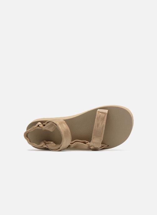 Sandales et nu-pieds Teva Original universal Gris vue gauche