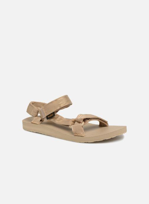 Sandals Teva Original universal Grey detailed view/ Pair view