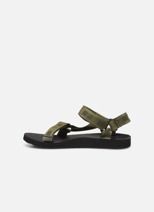 Sandales et nu-pieds Teva Original universal Vert vue face