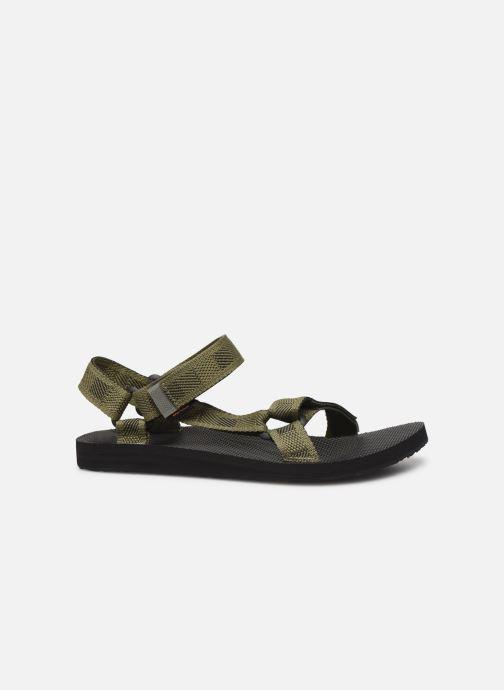 Sandales et nu-pieds Teva Original universal Vert vue derrière