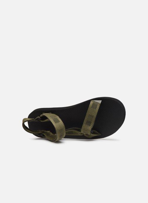 Sandales et nu-pieds Teva Original universal Vert vue gauche