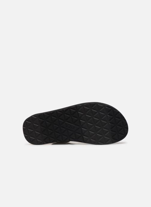 Sandales et nu-pieds Teva Original universal Vert vue haut