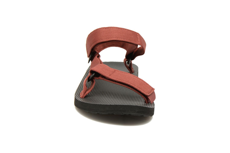Sandales et nu-pieds Teva Original universal Rouge vue portées chaussures