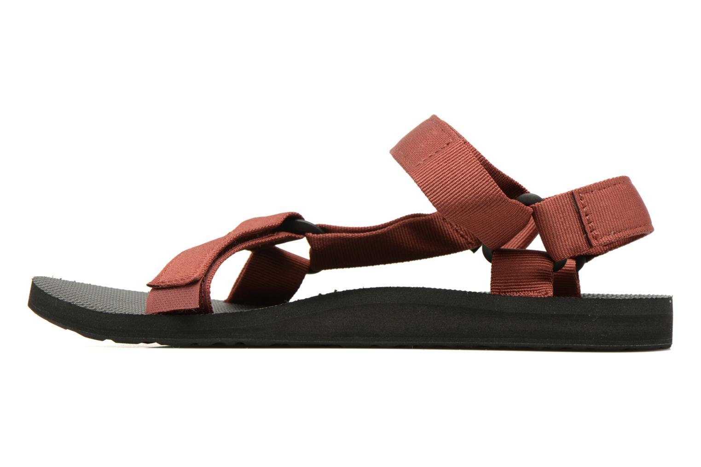 Sandales et nu-pieds Teva Original universal Rouge vue face