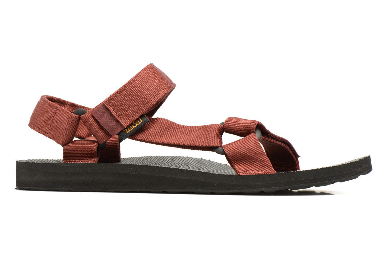 Sandales et nu-pieds Teva Original universal Rouge vue derrière